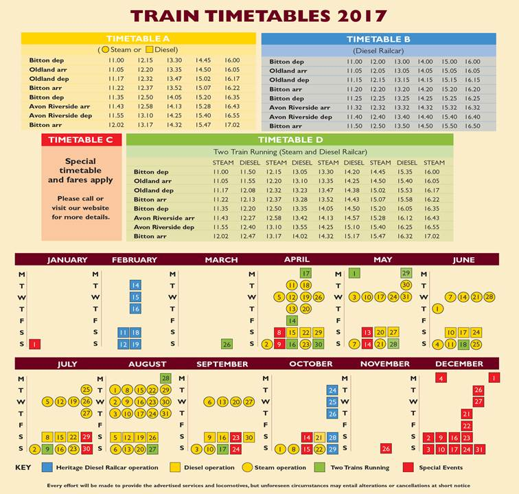 2017-timetable